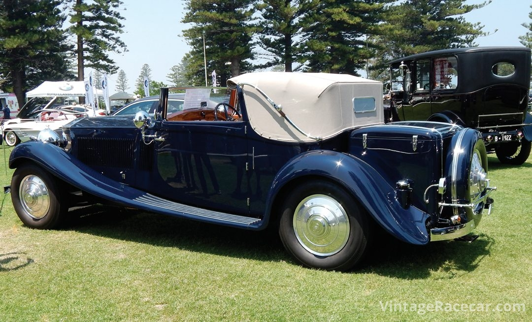 The People's Choice winning 1934 Rolls-Royce
