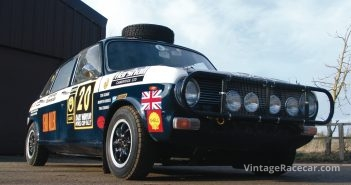 1969 Austin Maxi Rally Car. Photo: Kary Jiggle