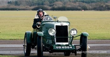 This Lea-Francis P Type was driven by Roger Tolson. Photo: Pete Austin