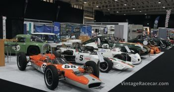 HSCC Stand featured formula cars, saloons and sports racers.Photo: Pete Austin