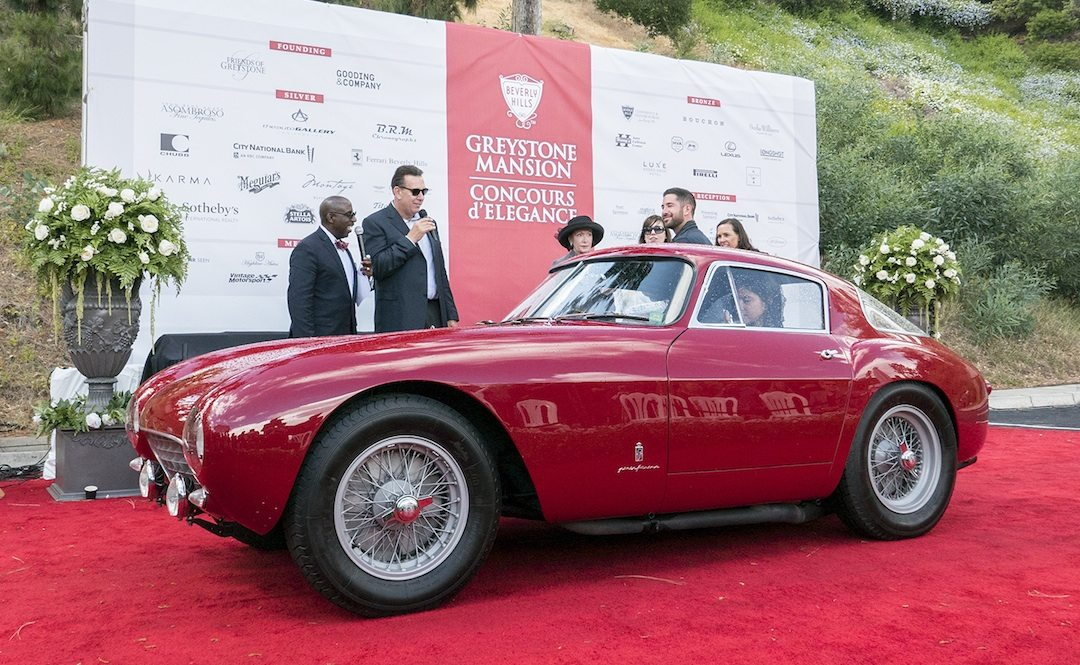 Lincoln Ferrari Honored At Greystone Concours 2017 Vintage Road