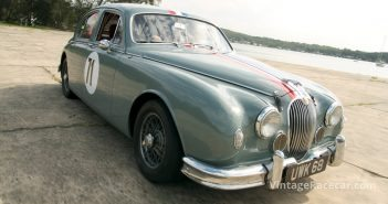 1958 Jaguar 3.4 Saloon. Photo: Steve Oom