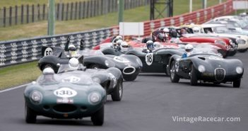 They're off in the Le Mans to Le Mount Regularity run!Photo: Jeremy Dale