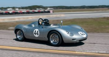 John Higgins brought out his 1959 Porsche 718 RSK. Photo: Chuck Andersen