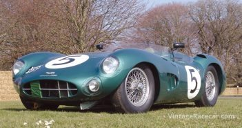 1957 Aston Martin DBR1. Photo: Mike Jiggle