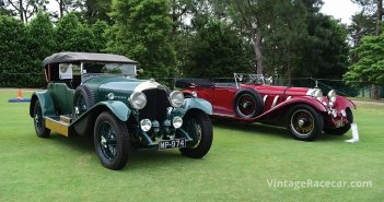 1927 Bentley 4.5 Litre-. 1928 Mercedes-Benz S-Type 26.