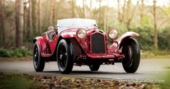 1931 Alfa Romeo 8C 2300. Photo: James Lipman/Fiskens Archive