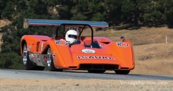 Nick Colonna in his 1970 McLaren M8C-Chevrolet. Photo: Rex McAfee