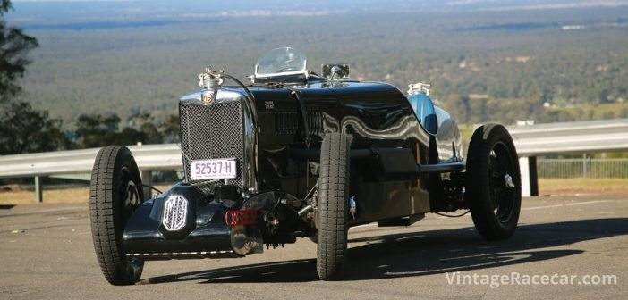 1934 MG Q-type. Photo: Steve Oom
