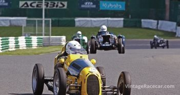 This Austin 7 Special was driven by Christian Pedersen. Photo: Pete Austin
