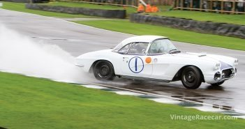 Charles Gregg and Geraint Owen raced this C1 Corvette.Photo: Roger Dixon