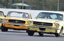 Alex Thistlethwayte leads Peter Hallford in Mustangs. Photo: Peter Collins
