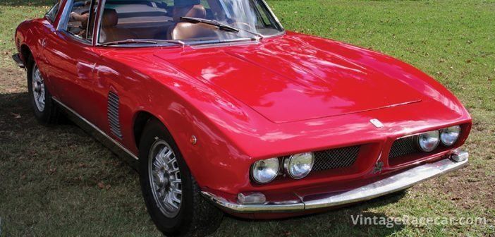 One of the few cars Bourassa still longs to own is the Iso Grifo.