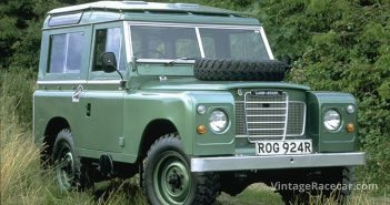 Blakemore learned to drive in the family's Land Rover tow vehicle.