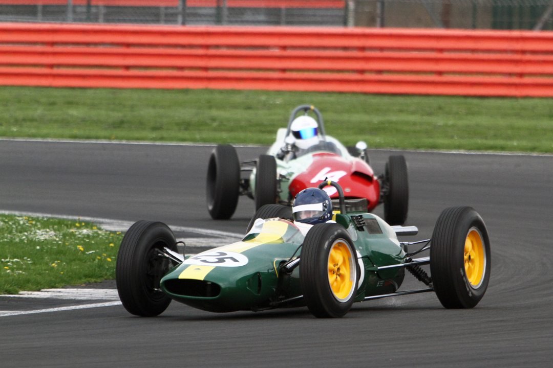 Andy Middlehurst (Lotus 25 R4) - Image by Pete Austin.