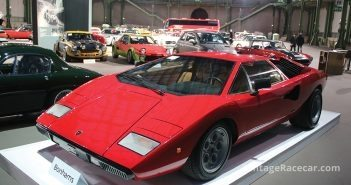 A 1974 Lamborghini Countach P400 Periscopio. Photo: Thierry Lesparre