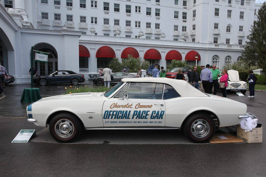 1967 Chevrolet Camaro Indy 500 Pace car of Bruce Hoffberger. Jackson X.