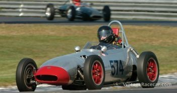 John Kiley in his 1959 Gemini Formula Jr.Photo: Michael Casey-DiPleco