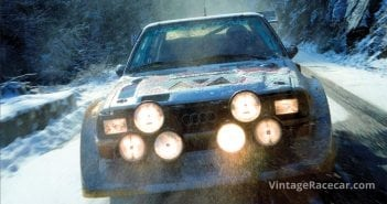 1985 Audi Quattro S1 Group B car; winner of the 1985 Sanremo Rally.Photo: Audi