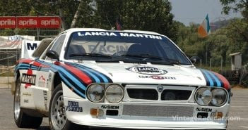 First prototype Lancia 037 rally car appears (1980).