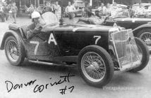 Cornett at Watkins Glen in 1948.