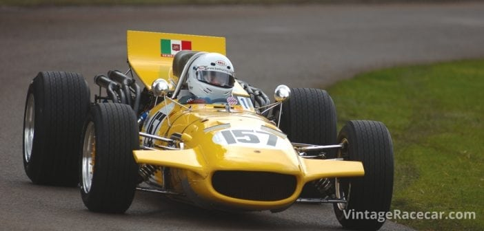 The Serenissima Grand Prix car attracted much attention.Photo: Peter Collins