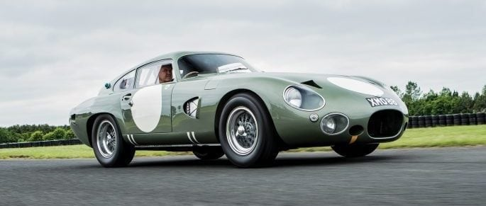Famed Aston Martin DP215 Prototype to Join Monterey Sale