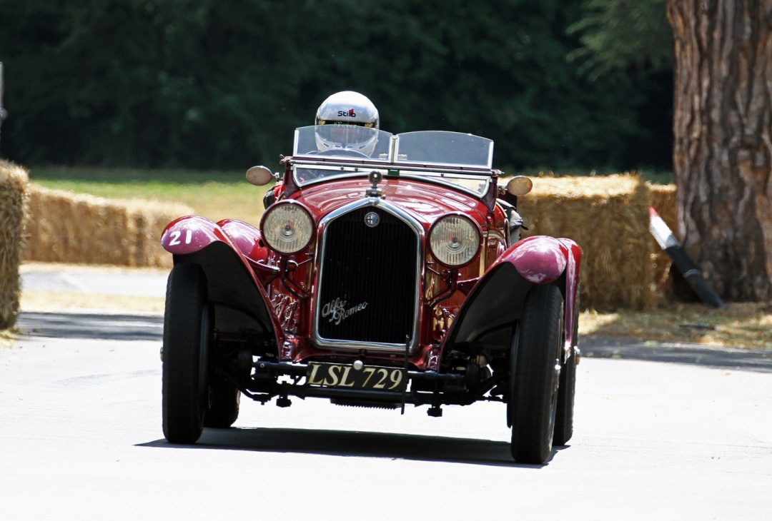 Alfa Romeo 6C 2300 (Barry Cannell) - Image by Pete Austin