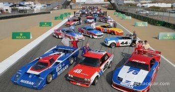 Nissan celebrates 50 years of motorsports success in Monterey John Lamm