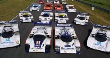 956s at Lime Rock in 2001-Photo-Porsche North America