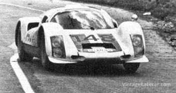 Mairesse and Muller win the Targa Florio driving a Porsche 906 (1966).