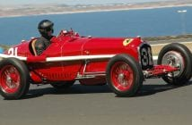 Who else but Peter Giddings in his Alfa Romeo P3. Neil Hammond Photo.