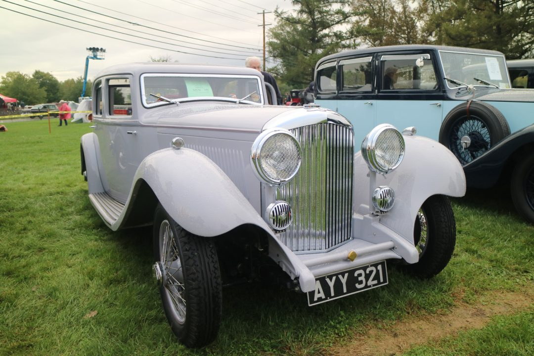 Not all Bentleys are frumpy, especially not this 1934 Derby Sports Saloon.