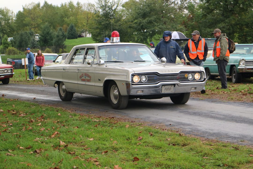 Could he be chasing the Dual Ghia?