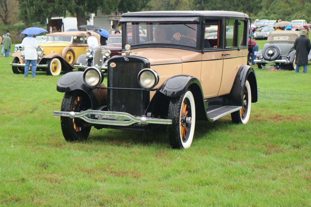 One of the rarest cars on the field was this 1925 Rickenbacker D6.  There are only about 100 left.  Watch for a profile of this car coming soon.