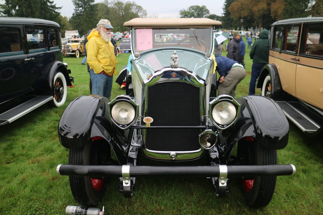 Lots of great mascots in Hershey.  The knight with his sword is appropriate for this 1926 Willys Knight 66.