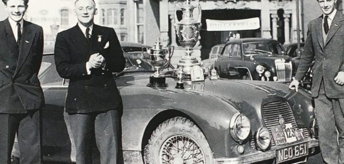 The Origins of Rallying's Peall Trophy