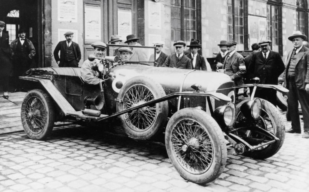 John Duff at wheel with Frank Clement