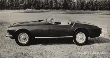 1956 Aston Martin DB2/4 Touring Spider