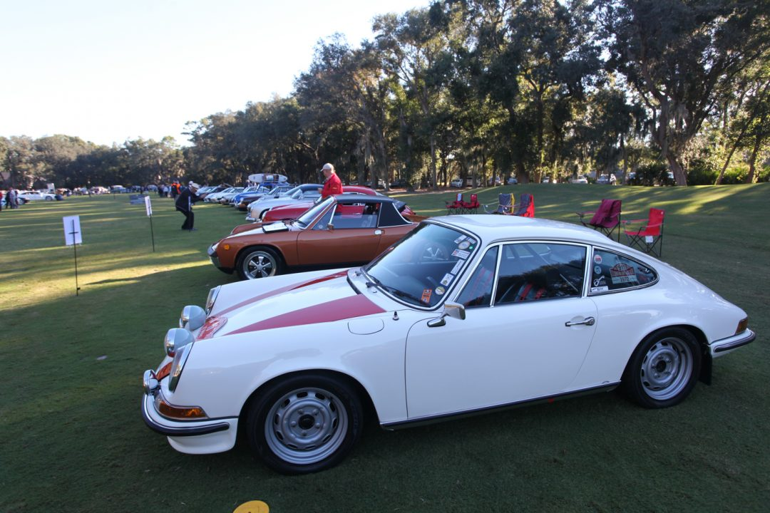 Porsche's 70th Anniversary was celebrated at Hilton Head with a nice, varied display of Porsche automobiles