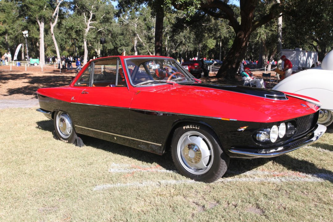 One of one!  Giovanni Michelotti designed this one-off O.S.C.A. for the Maserati brothers in 1959.