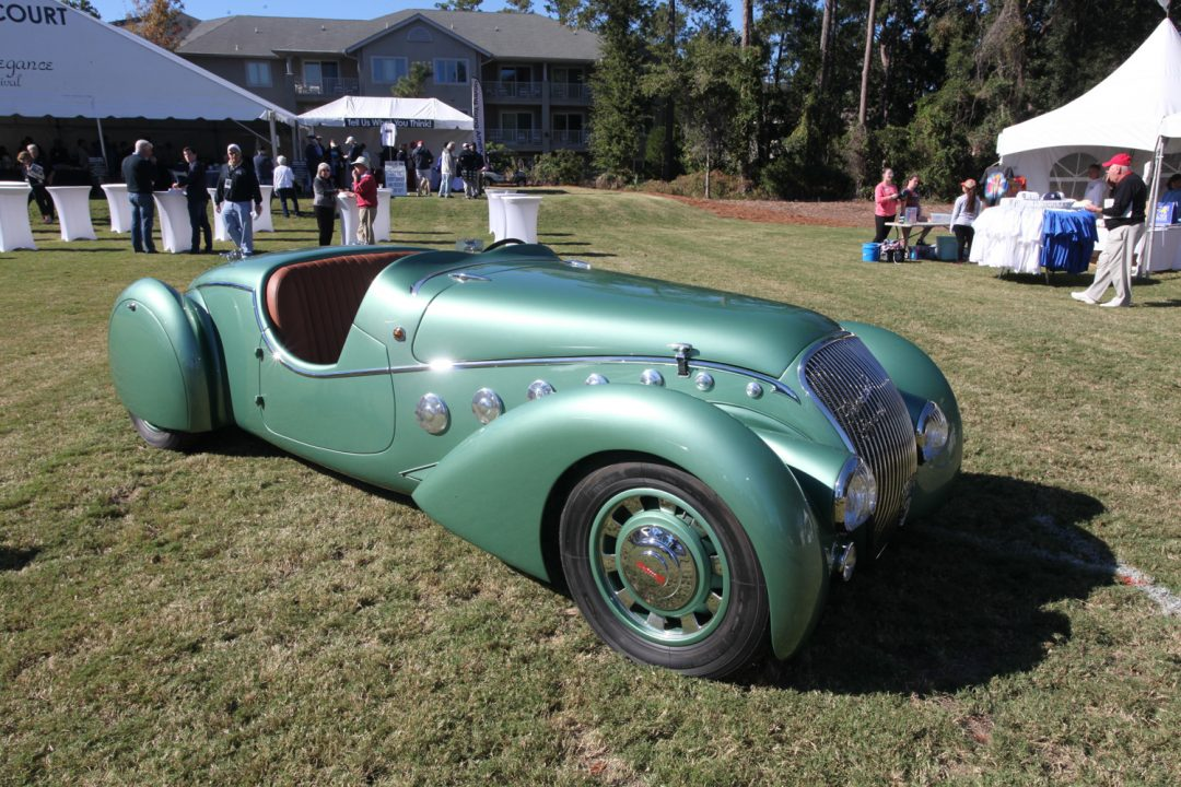 1938 Peugeot Darl'Mat Special Sport - another Deco beauty.