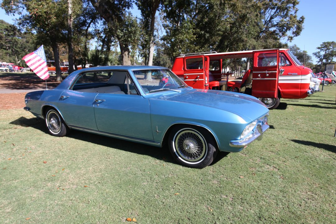 These family Corvairs proved to be rarer than the Monzas and Corsas on the field.