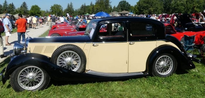 1937 Triumph Continental – best in show