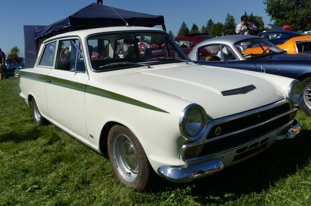 Lotus Cortina – People's choice 1st in class