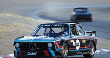 The BMW CSL of Cuffy Crabbe.Photo: Brian Green