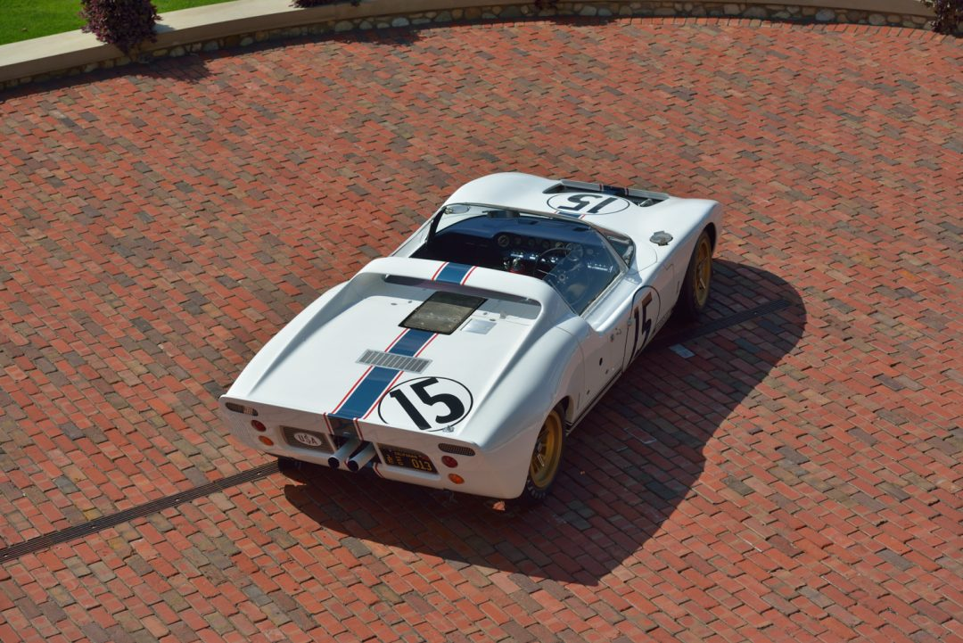 One Of Two Surviving Ford Gt Competition Prototype Roadsters And The Only One To Have Raced At Le Mans Gt S Key Accomplishments Were The Blueprint For
