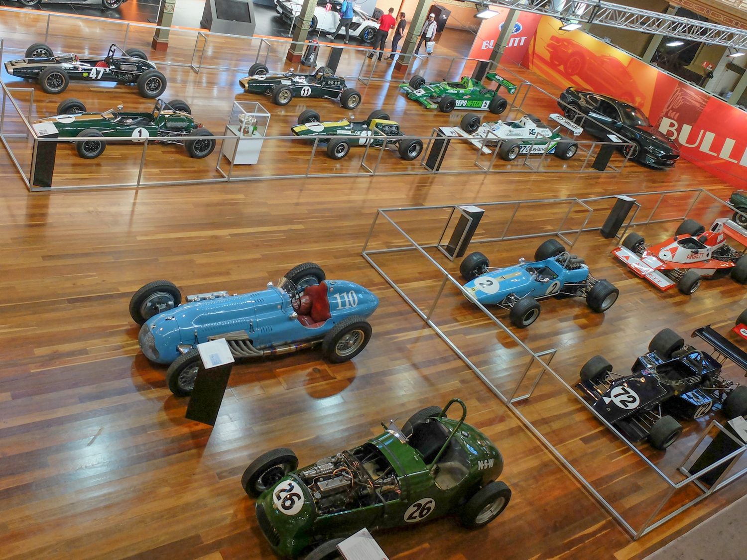 90 years of the Australian Grand Prix was celebrated in this display