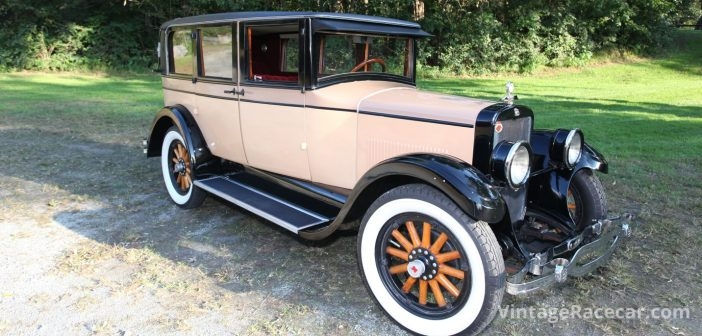 Hat in the Ring—1925 Rickenbacker D6 Sedan