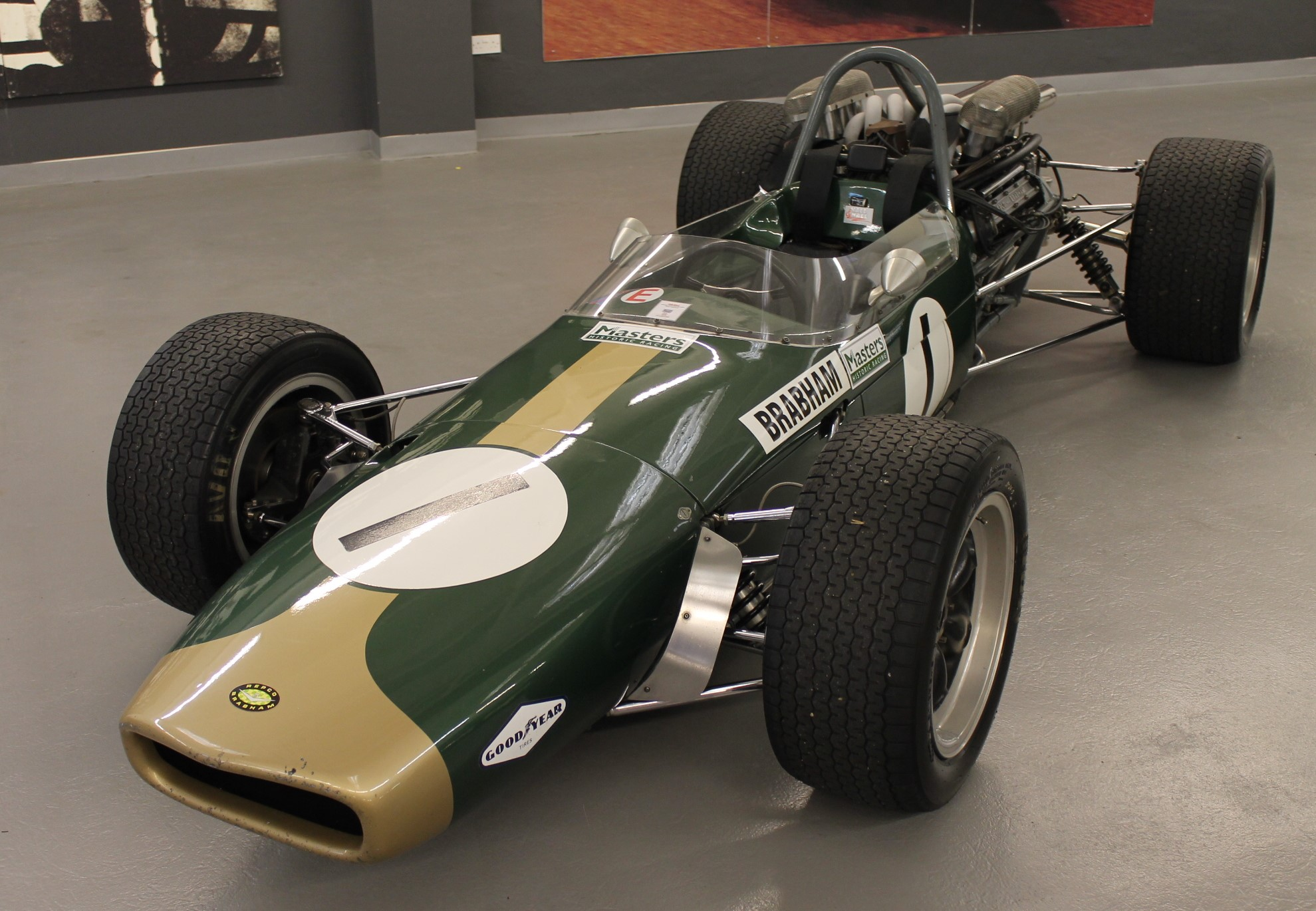 Brabham BT24 recreation